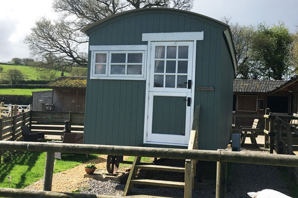 Two Night Shepherds Hut Getaway In Devon During Low Season For Up To Four People