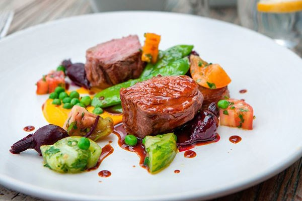 Three Course Meal With Wine For Two At The Folly Restaurant