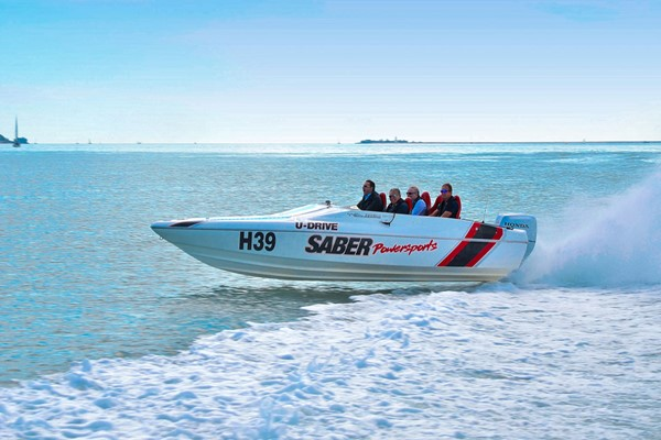 Honda Powerboat Racing For Two