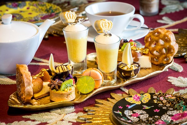 Jasmine Indian Afternoon Tea For Two At 5* Taj 51 Hotel