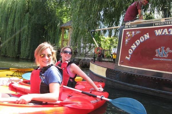 Hampton Court Palace Kayak Tour For One