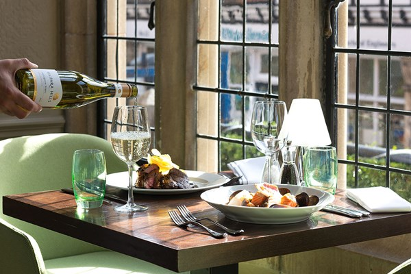 Three Course Meal With Wine And Cocktails For Two At The Crown Manor House Hotel