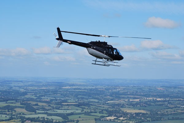 12 Mile Helicopter Tour With Bubbly For One