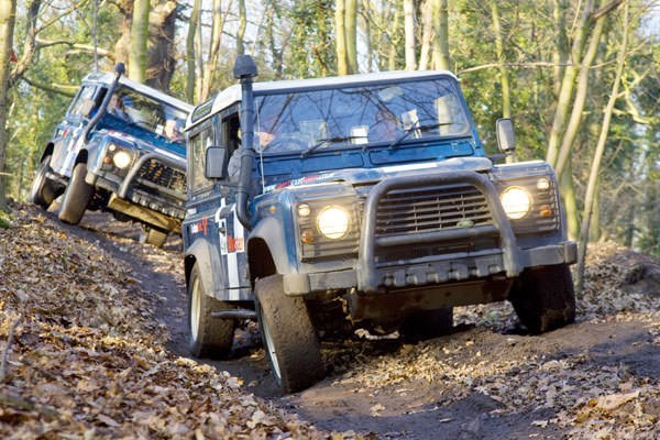 Extended 4x4 Driving Experience at Oulton Park