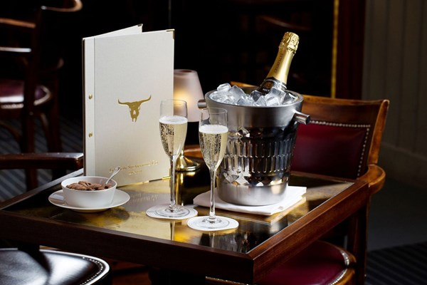 Three Course Champagne Celebration At Marco Pierre White London Steakhouse Co