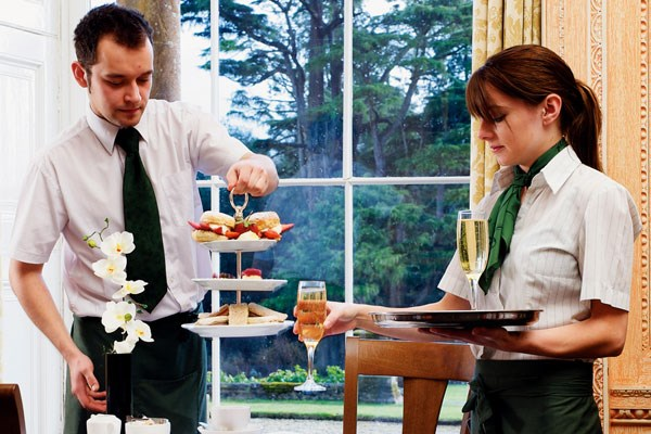 Champagne And Macarons For Two At Cake Boy