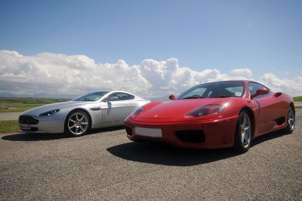 Triple Supercar Driving Thrill With Passenger Ride - Weekends