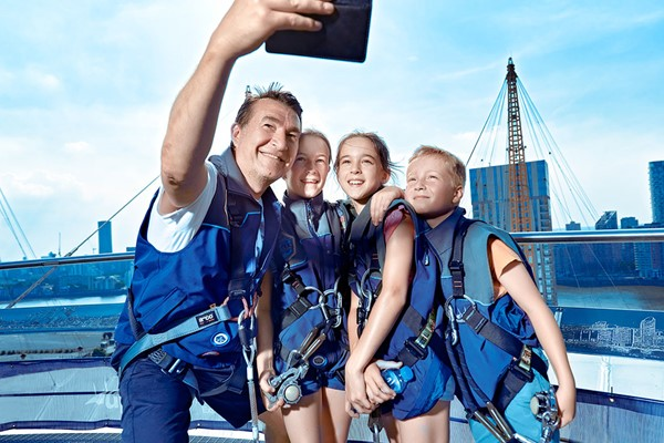 Up At The O2 Experience And Three Course Meal At Cabana O2 For Two