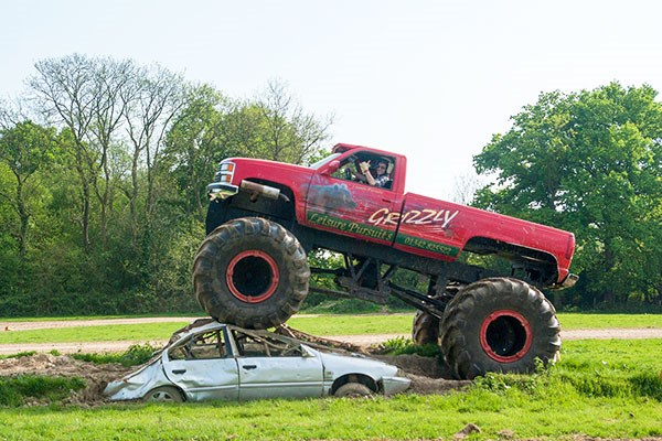 Extended Monster Truck Driving Experience