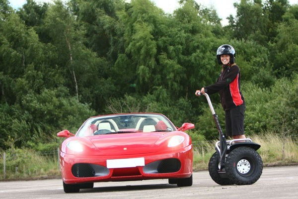 Supercar Driving Blast And Off Road Segway Experience For Two At Long Marston