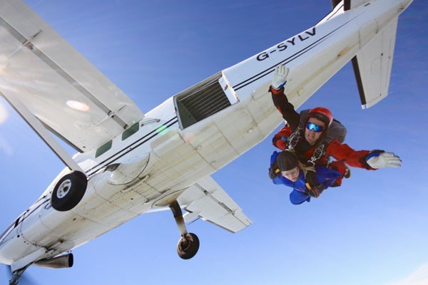 Beginners Tandem Skydive In Wales