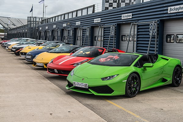 Six Supercar Driving Blast With High Speed Passenger Ride