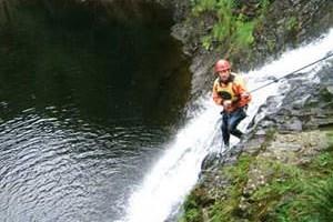 A Full Days Gorge Walking In Gwynedd
