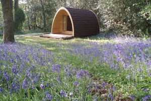 One Night Stay In A Camping Hut At Ruthern Valley